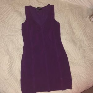 Purple Bebe dress